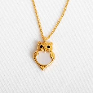 Kate Spade Into the Woods Owl Necklace